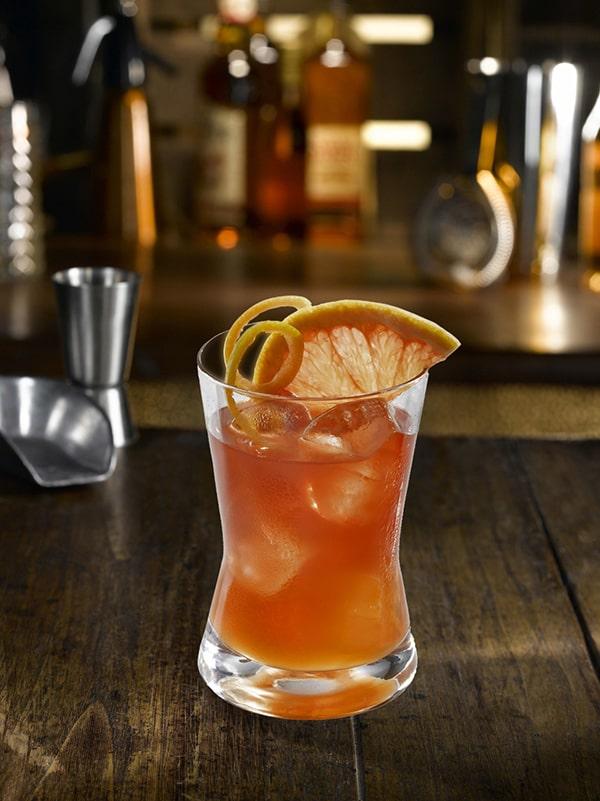 cocktail Roussillon avec orange