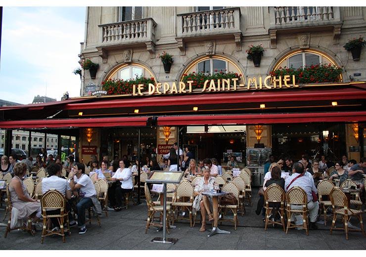 Restaurant-Le-Départ-St-Michel-Paris