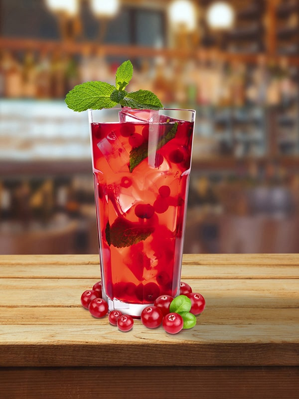 cocktail the maple berry cranberry