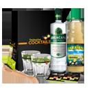 Kit cocktail brésilien caïpirinha à la cachaça