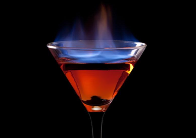 cocktails-flambés