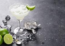 cocktail et glaçons