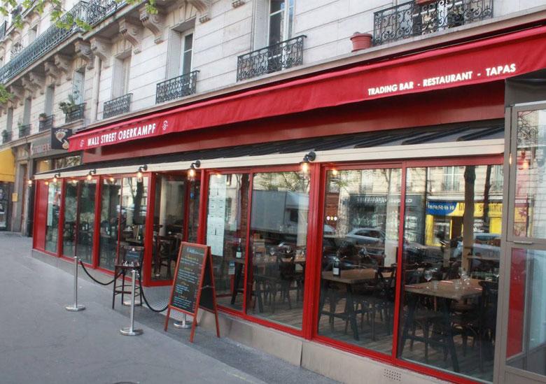 Bar restaurant - Le Wall Street Oberkampf - Paris