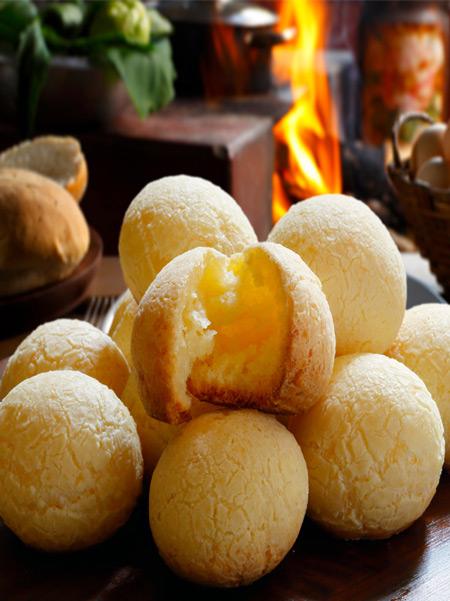 recette de pao de queijo, pain au fromage brésilien