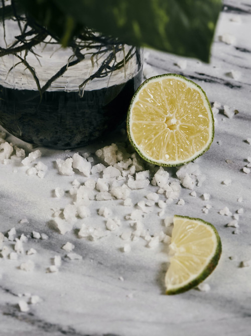 recette de citron salé au citron vert