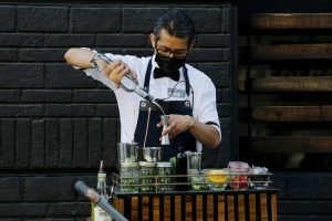 barman cocktails à emporter