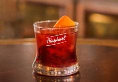cocktail french negroni avec gin et apéritif st raphael
