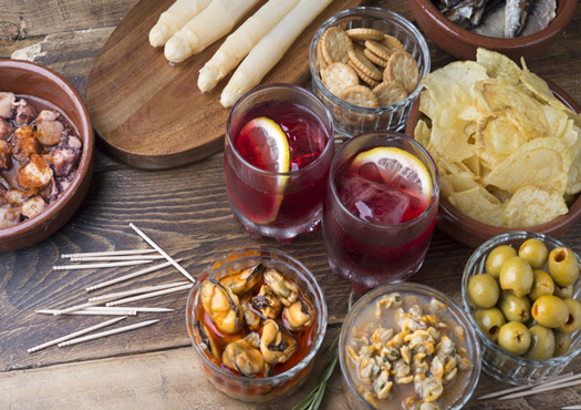 Quoi manger avec du vermouth