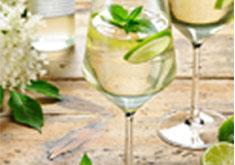 cocktail tequila et liqueur de sureau