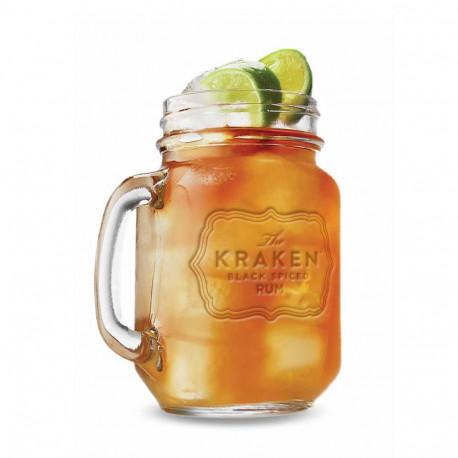 Mason jar The Kraken