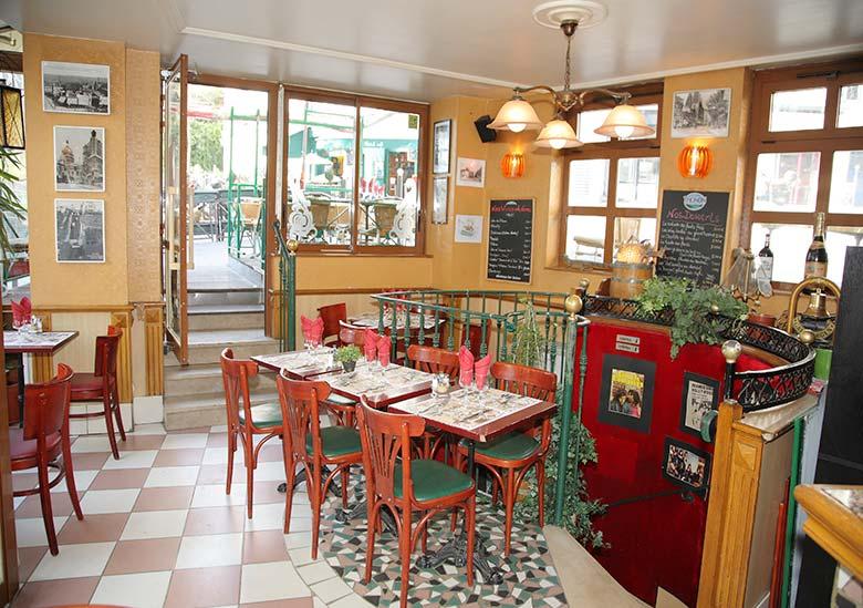 bar restaurant au soleil de la butte paris