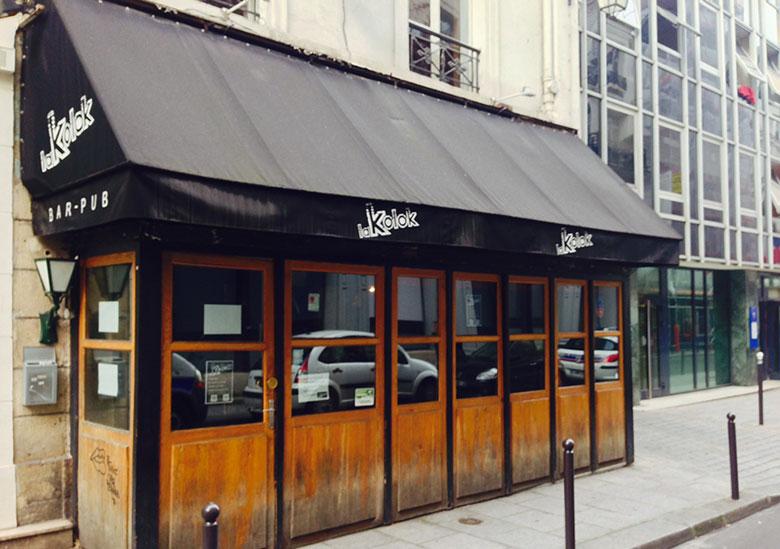 Bar à cocktails - La Kolok - Paris