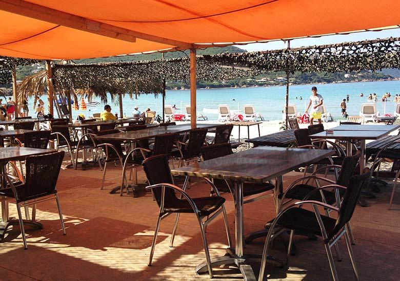 Bar restaurant - La Paillote L'Oriu - Pietrossela