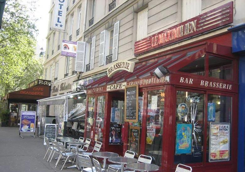 Bar restaurant-Le Maximilien-Paris