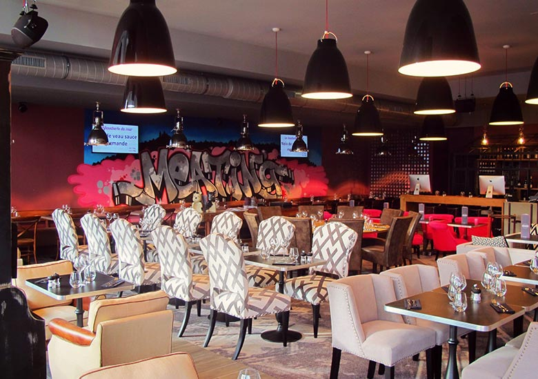 Bar restaurant - Le Meating - Boulogne-Billancourt