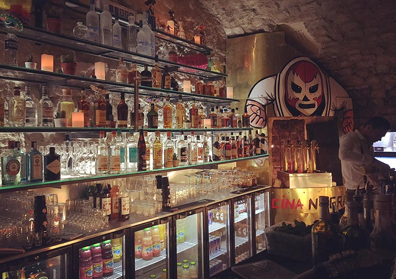 Bar à cocktails - la cocina negra - Aix-en-provence