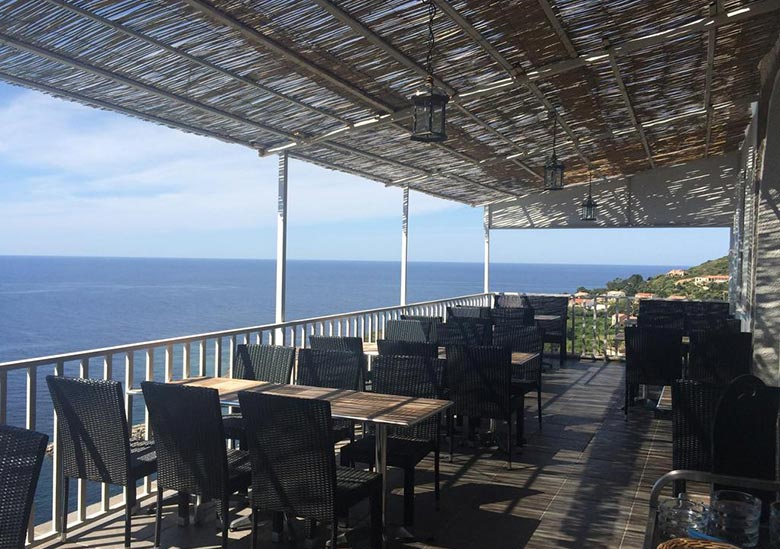 Restaurant - Hotel Bel'mare - Cargese